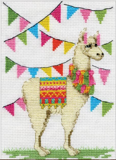 click here to view larger image of Llama  (counted cross stitch kit)