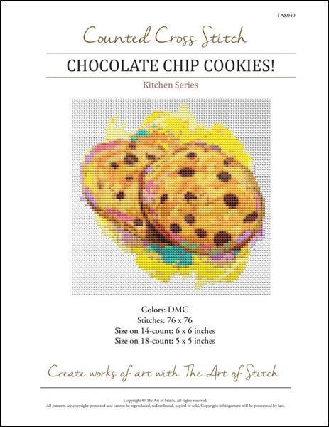 click here to view larger image of Chocolate Chip Cookies! (chart)
