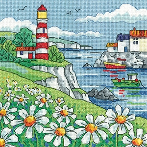 click here to view larger image of Daisy Shore - By the Sea (counted cross stitch kit)