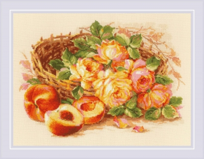 click here to view larger image of Juicy Peach (counted cross stitch kit)