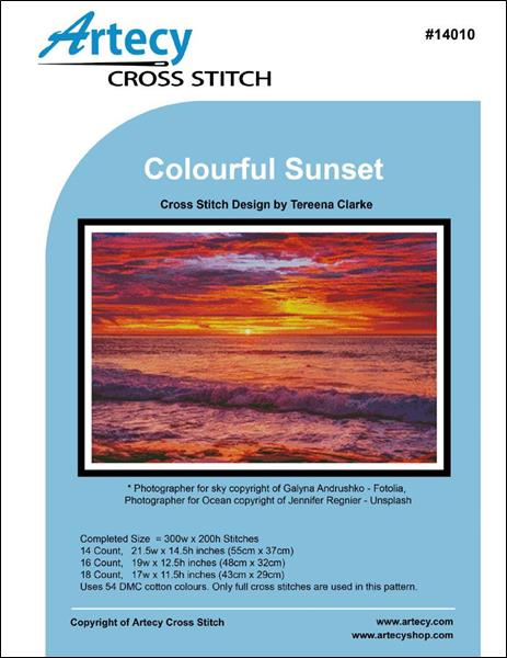 click here to view larger image of Colourful Sunset (chart)