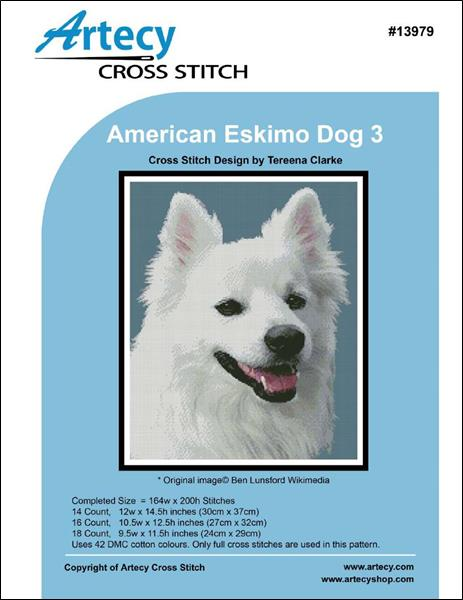 click here to view larger image of American Eskimo Dog 3 (chart)