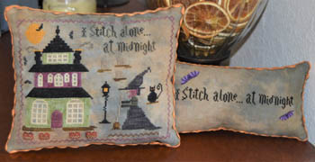 click here to view larger image of I Stitch Alone At Midnight (chart)