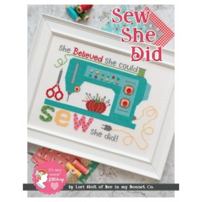 click here to view larger image of Sew She Did (chart)