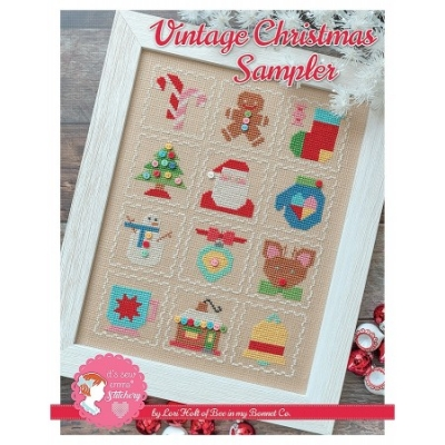 click here to view larger image of Vintage Christmas Sampler (chart)