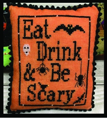 click here to view larger image of Eat Drink Be Scary - Halloween Mini-Series 5 (chart)