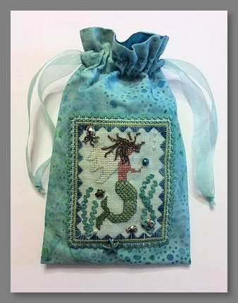 click here to view larger image of Summer Angel (A Mermaid) Bag (bead kit)