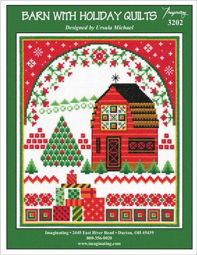 click here to view larger image of Barn With Holiday Quilts (chart)
