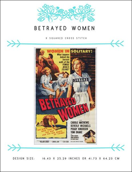 click here to view larger image of Betrayed Women (chart)