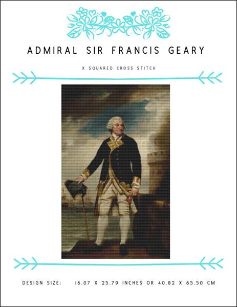 click here to view larger image of Admiral Sir Francis Geary (chart)