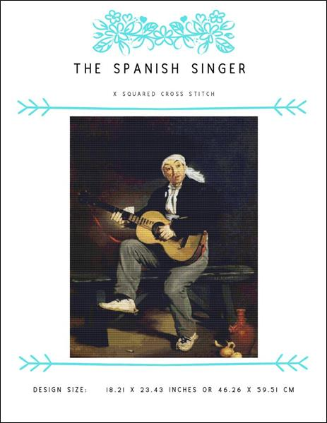 click here to view larger image of Spanish Singer, The (chart)