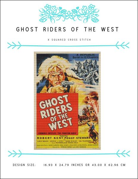 click here to view larger image of Ghost Riders of the West (chart)