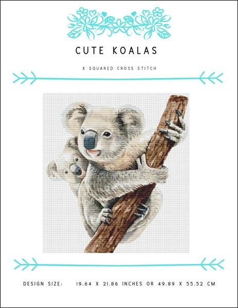 click here to view larger image of Cute Koalas (chart)
