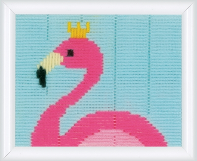 click here to view larger image of Flamingo - Long Stitch (Long Stitch)