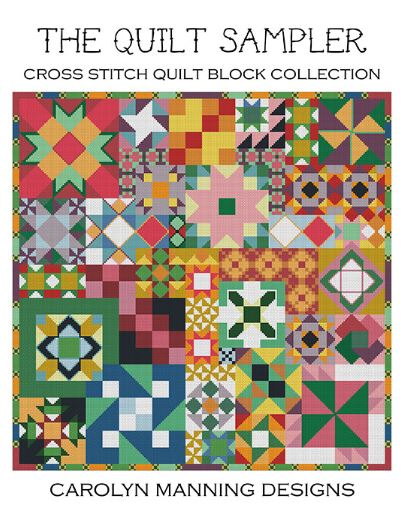click here to view larger image of Quilt Sampler, The (counted canvas chart)
