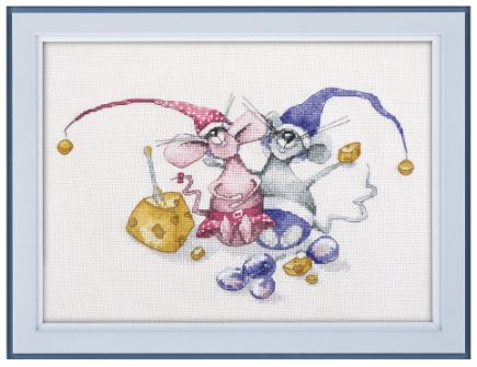click here to view larger image of Peas and Bean (counted cross stitch kit)