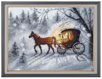 click here to view larger image of Evening Walk (counted cross stitch kit)