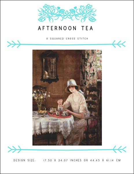 click here to view larger image of Afternoon Tea (chart)