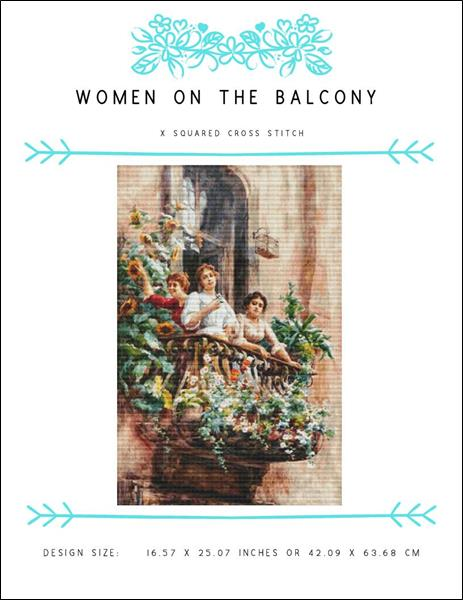 click here to view larger image of Women On The Balcony (chart)