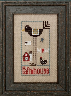 click here to view larger image of Wee One - Farmhouse Bird (chart)