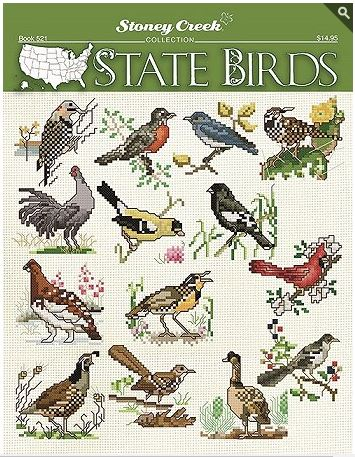 click here to view larger image of State Birds (book)