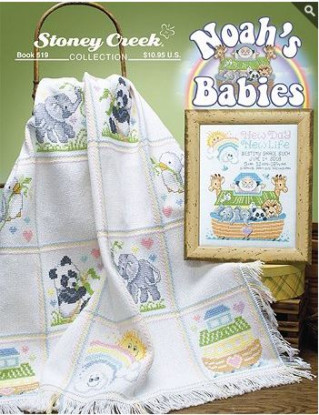 click here to view larger image of Noah's Babies (book)