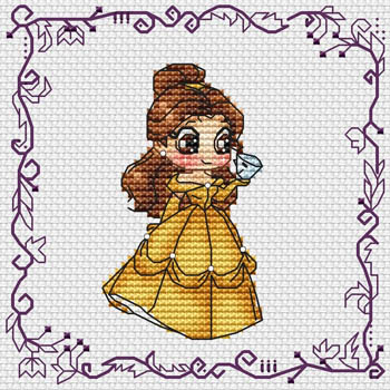 click here to view larger image of Baby Princess Belle (chart)