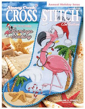 click here to view larger image of Stoney Creek Cross Stitch Collection - 2019 Summer (magazines)