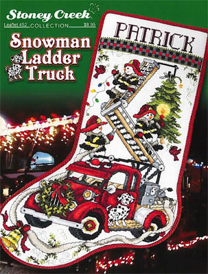 click here to view larger image of Snowman Ladder Truck (chart)