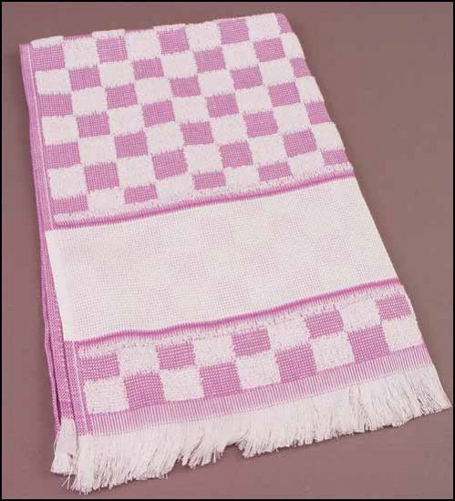 click here to view larger image of Verona Kitchen Towel - Lilac (stitchable)