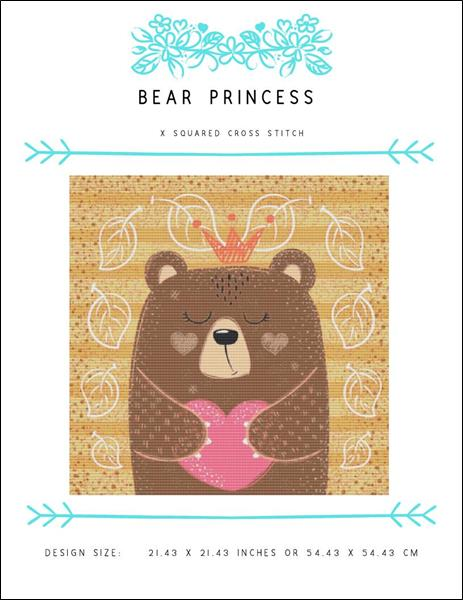 click here to view larger image of Bear Princess (chart)