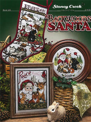click here to view larger image of Backwoods Santa (chart)