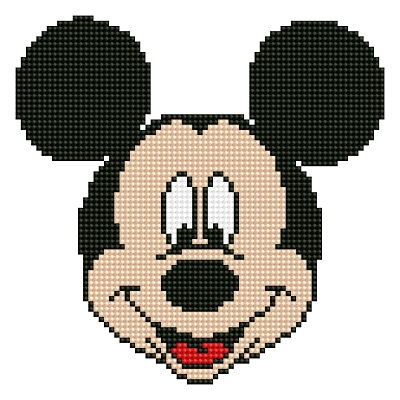 click here to view larger image of Mickey Head (Diamond Embroidery)