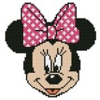 click here to view larger image of Minnie Head (Diamond Embroidery)