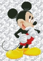 click here to view larger image of Mickey Mouse (Diamond Embroidery)
