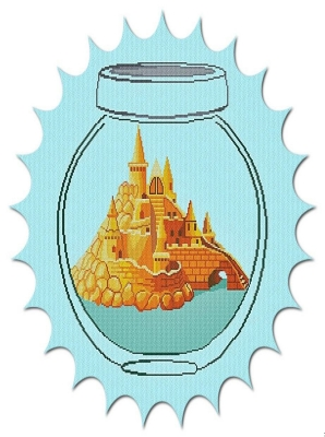 click here to view larger image of Castle in a Jar (chart)
