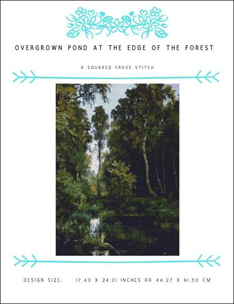 click here to view larger image of Overgrown Pond at the Edge of the Forest (chart)