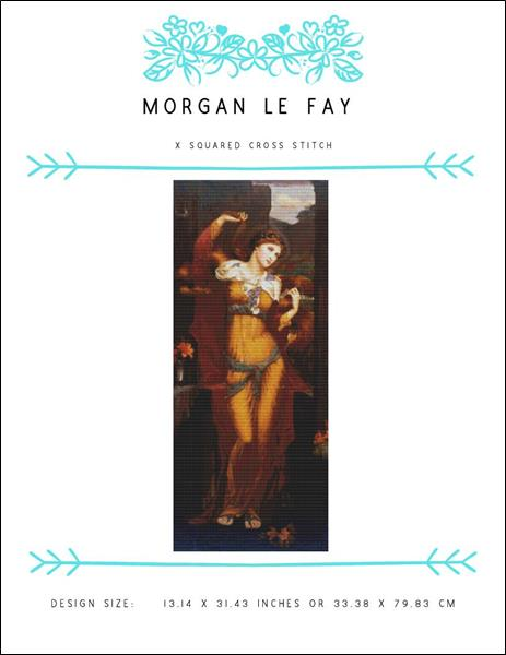 click here to view larger image of Morgan Le Fay (chart)