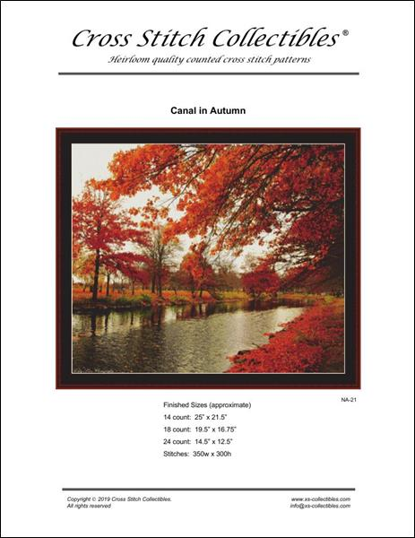 click here to view larger image of Canal in Autumn (chart)