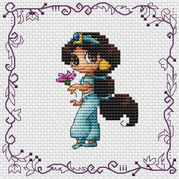 click here to view larger image of Baby Princess Jasmine (chart)