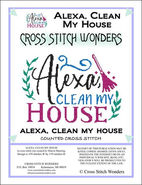 click here to view larger image of Alexa Clean My House (chart)