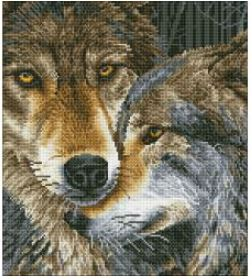 click here to view larger image of Muzzle Nuzzle (Diamond Embroidery)