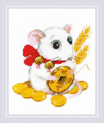 click here to view larger image of For Well Being (counted cross stitch kit)