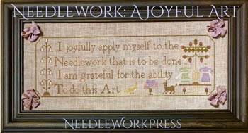 click here to view larger image of Needlework - A Joyful Art (chart)