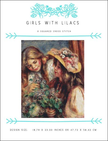 click here to view larger image of Girls with Lilacs (chart)
