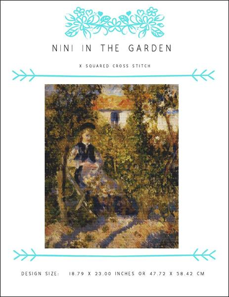 click here to view larger image of Nini in the Garden (chart)