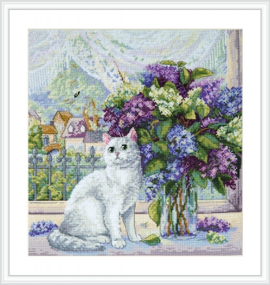 click here to view larger image of Spring Mood (counted cross stitch kit)