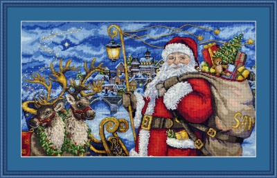click here to view larger image of Magical Journey (counted cross stitch kit)