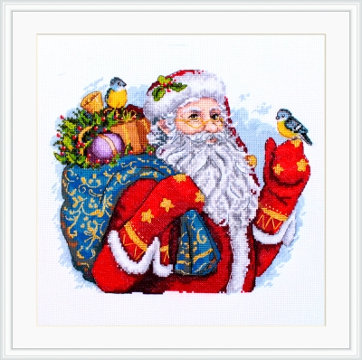 click here to view larger image of Merry Christmas (counted cross stitch kit)