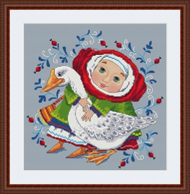 click here to view larger image of Goose, The (counted cross stitch kit)